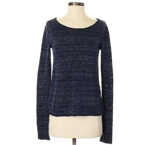 Shimmery Blue Hollister Sweater